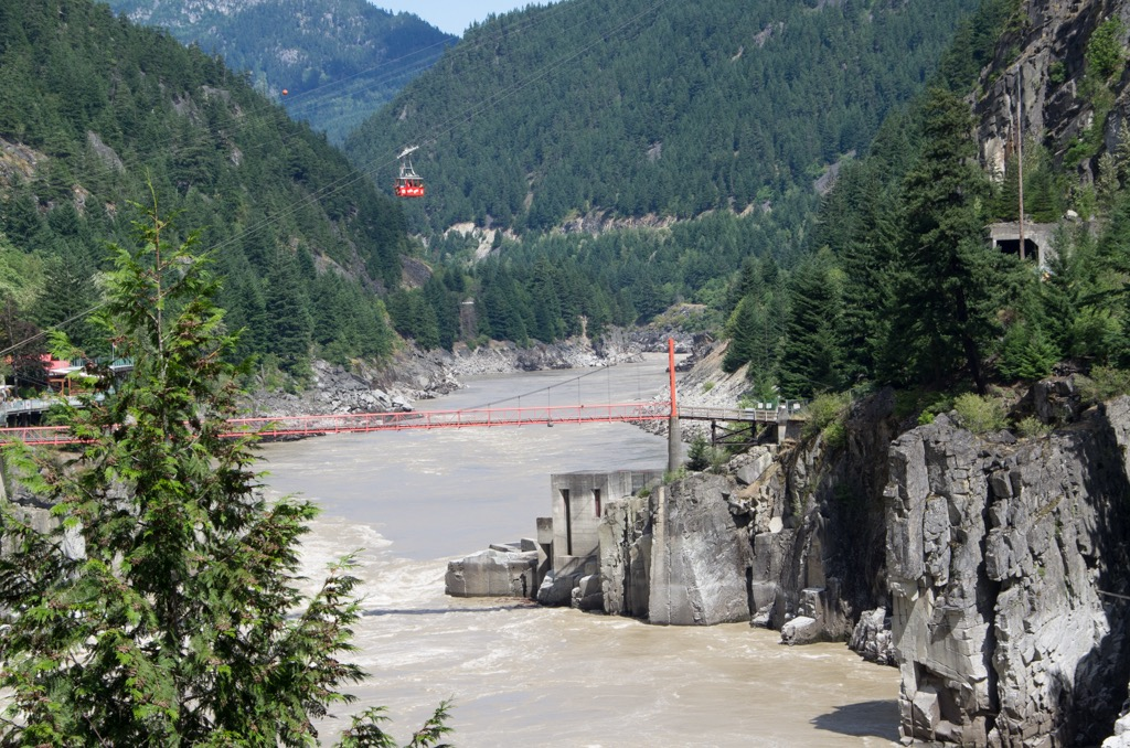 Hell's Gate on the Fraser