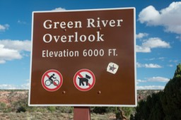 The Green River which feeds into the Colorado