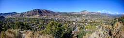 Durango city and valley