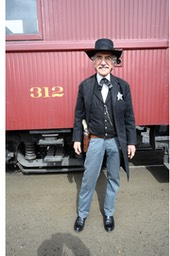 The Sheriff of the train