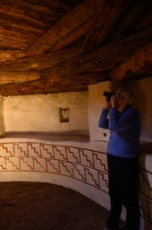 Photographing in the Kiva